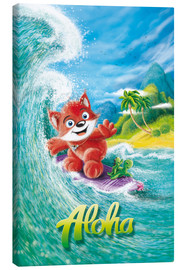 Leinwandbild  Aloha Surfer Fuchs - Stefan Lohr
