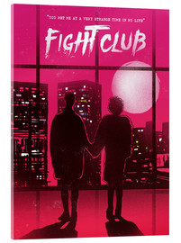 Acrylglas  Fight club movie scene art - 2ToastDesign