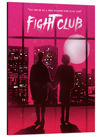 Alubild  Fight Club Filmszene - 2ToastDesign