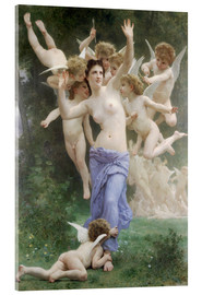 Acrylglasbild  Le Guêpier - William Adolphe Bouguereau