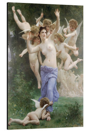 Alu-Dibond  Le Guêpier - William Adolphe Bouguereau