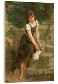 Emile Munier - Am Brunnen