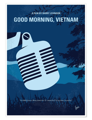 Premium-Poster Good Morning, Vietnam