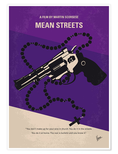 Premium-Poster Mean Streets