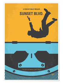 Premium-Poster Sunset Blvd.