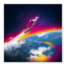 Premium-Poster  One Giant Leap - Stoddartist