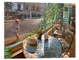 Hartschaumbild  Greenwich Café - Johnny Morant