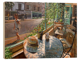 Holzbild  Greenwich Café - Johnny Morant