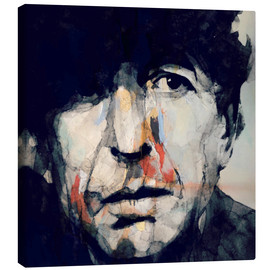 Leinwandbild  Leonard Cohen   Hey That's No Way To Say Goodbye - Paul Paul Lovering Arts