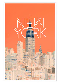 Premium-Poster  The Big Apple - Uma 83 Oranges