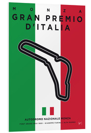 Forex  My F1 MONZA Race Track Minimal Poster - chungkong