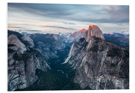 Hartschaumbild  Glacier Point - Yosemite NP - Thomas Klinder