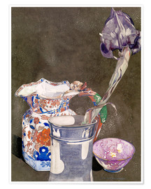 Premium-Poster  Graue Iris - Charles Rennie Mackintosh