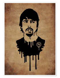 Poster  FooFighter Vintage - Durro Art
