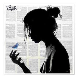 Poster  blue note - Loui Jover