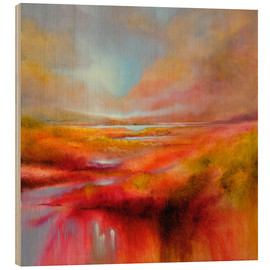 Holzbild  just let it be a perfect day - Annette Schmucker
