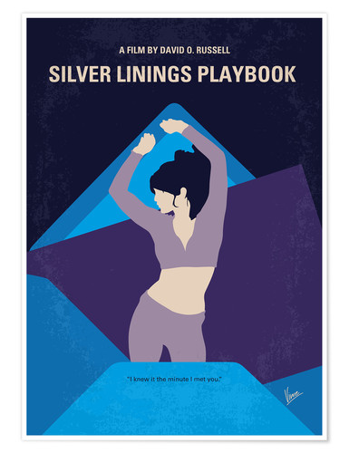 Premium-Poster Silver Linings Playbook