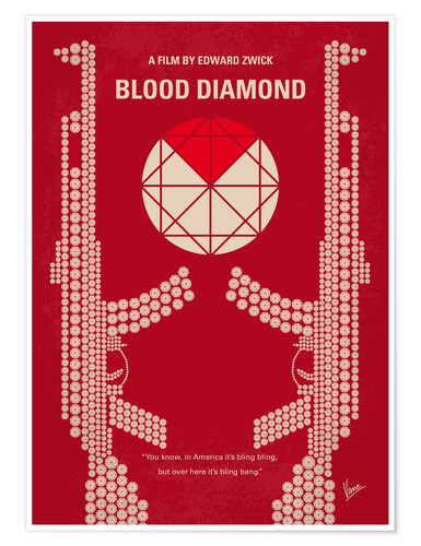 Premium-Poster Blood Diamond