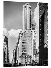 Acrylglasbild  Historisches New York: Madison Avenue - Christian Müringer