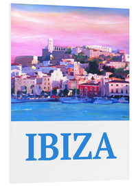 Forex  Retro Ibiza Old Town and Harbour Pearl Of the Mediterranean - M. Bleichner