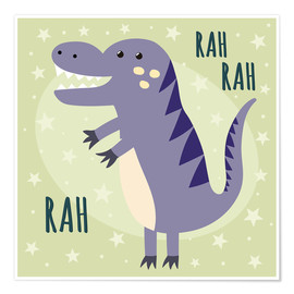 Premium-Poster  Kleiner Dinosaurier - Kidz Collection