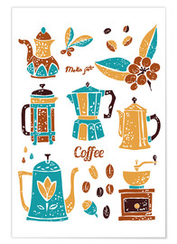 Premium-Poster Coffee Collection