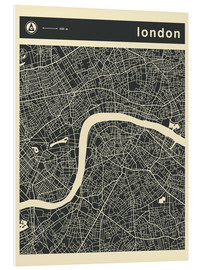 Forex  LONDON CITY MAP - Jazzberry Blue