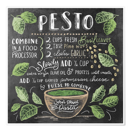 Poster  Pesto - Lily & Val