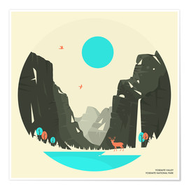 Premium-Poster YOSEMITE NATIONAL PARK (2)