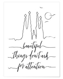 Premium-Poster Beautiful things art