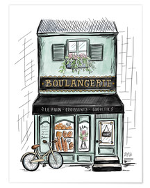 Premium-Poster  Boulangerie - Lily & Val