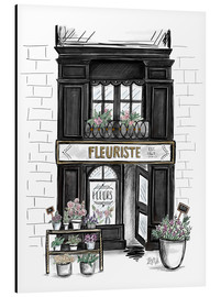 Lily & Val - French Shop Front - Fleuriste