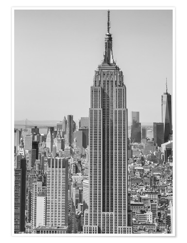 Premium-Poster New York City – Skyline