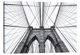 Leinwandbild  Brooklyn Bridge
