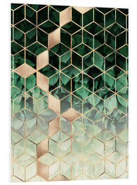 Forex  Leaves And Cubes - Elisabeth Fredriksson