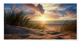 Premium-Poster Ostsee Weststrand