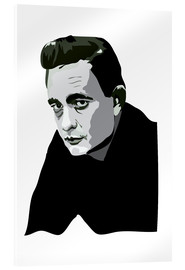 Acrylglas  Johnny Cash - Anna McKay