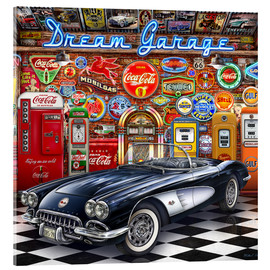 Acrylglasbild  Dream Garage - Michael Fishel