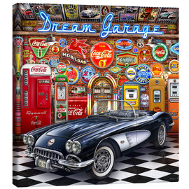 Leinwandbild  Dream Garage - Michael Fishel