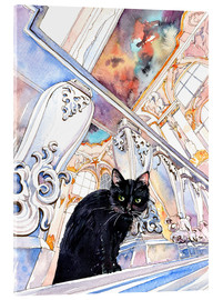 Acrylglasbild  Cat in the Hermitage, Saint-Petersburg - Anastasia Mamoshina