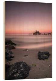 Holzbild  Timmendorfer Strand / Ostsee - Silly Photography