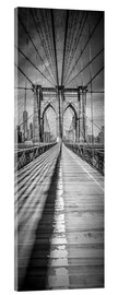 Acrylglasbild  NEW YORK CITY Brooklyn Bridge Panorama - Melanie Viola