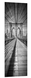 Forex  NEW YORK CITY Brooklyn Bridge Panorama - Melanie Viola