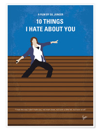 Premium-Poster 10 Things I Hate About You