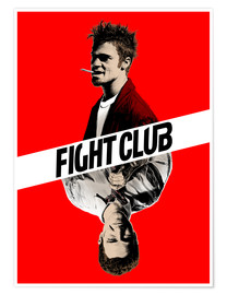 Premium-Poster  Fight Club - Paola Morpheus