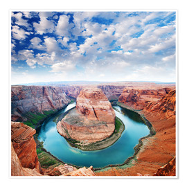 Poster  Colorado Canyon Blick