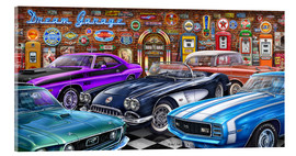 Acrylglasbild  Dream Garage II - Michael Fishel