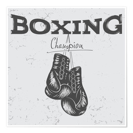 Poster  Boxing Champion