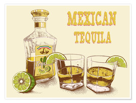 Premium-Poster  Tequila Drink