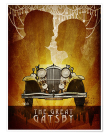 Premium-Poster  The Great Gatsby - Albert Cagnef